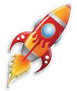 Uncle Milton 2343 - Juguete In My Room Jr. Big Red Rocket