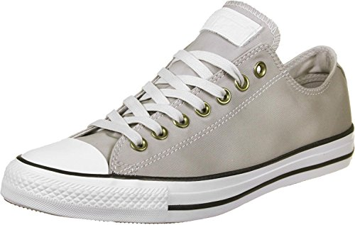 Converse All Star Ox Homme Baskets Mode Gris Blanc (Mouse/White)