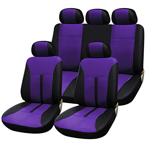 LAND ROVER DEFENDER EXTRA HEAVY DUTY CAR SEAT COVERS PROTECTORS X2 WATERPROOF