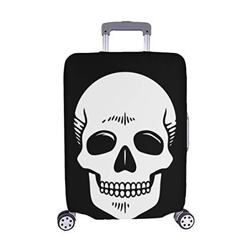 (Nur abdecken) Hipster Skull Staubschutz Trolley Protector case Reisegepäck Protector Kofferüberzug 28,5 X 20,5 ()