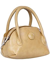 Belladona Women's Hand Held Bag (Poh_6, Skin Cream)