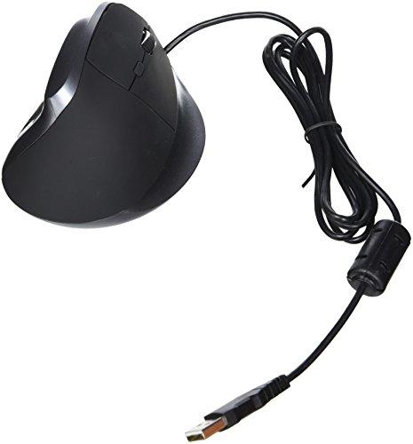 CSL - 3200 dpi ergonomische Vertikal USB Maus ergonomische | vertikale/kabelgebundene Ausführung | optischer Sender | besonders armschonend | 6 Tasten