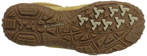 Columbia Peakfreak Venture Mid Suede WP, Chaussures de Randonnée Hautes Homme Beige (Curry/ Ancient Fossil)