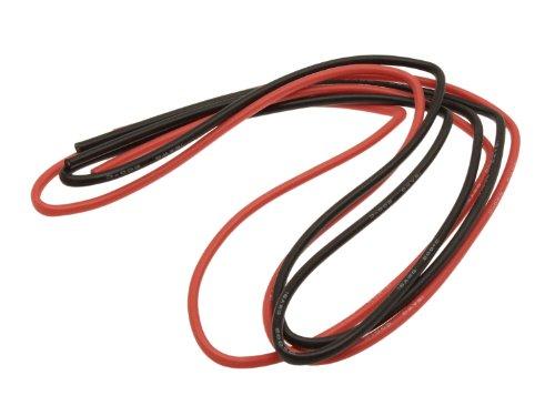 BEGADI 16AWG 1,5QMM Silikon Kabel Set, mit vielen feinen Litzen (2x 1 Meter)