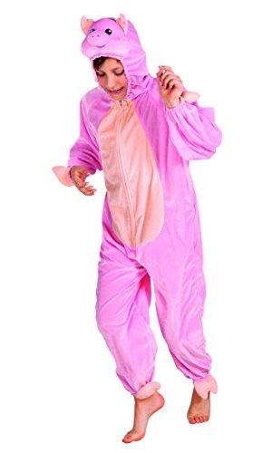Boland costume tuta peluche porcellino per bambini, rosa, max 1,16 m, 88254