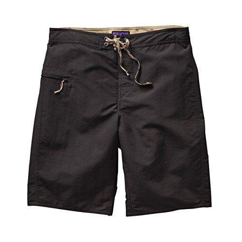 Patagonia Herren Shorts Solid Wavefarer Board Black