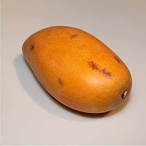 Mango arancione, 12 cm, Ø 6,5 cm - Frutto artificiale / Frutta decorativa - artplants
