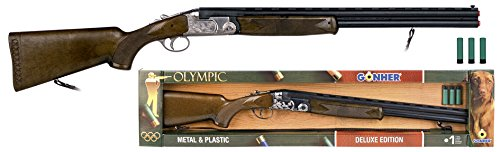 Gonher - Jeu de plein air - Fusil Olympic Ball Trap