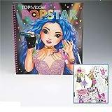 8493_A - Topmodel Agenda Popstar para Colorear