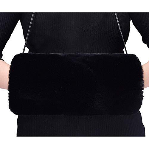 Frauen Warme Winter Stretchy Weiche Oversleeve Armbänder Winddicht Komfortable Kunstpelz Armwärmer Manschetten Set Armband Hand Muffs Handwärmer