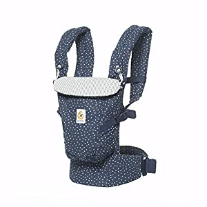 Ergobaby Baby Carrier Backpack for Newborn to Toddler up to 20kg, Galaxy Adapt 3-Position Ergonomic Child Carrier   5