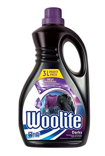 Woolite Black Protection, Feinwaschmittel für Dunkles, 3 Liter, für 50 Waschladungen
