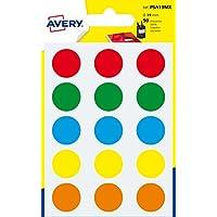 Avery España PSA19MX - Pack de 90 gomets, multicolor