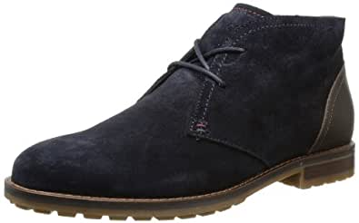 Tommy Hilfiger WINONA 4 B FW56816099, Damen Desert Boots, Blau (MIDNIGHT 403), EU 42