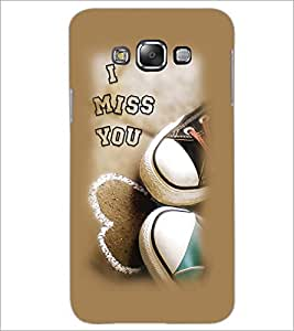 PrintDhaba I Miss You D-1998 Back Case Cover for SAMSUNG GALAXY A8 (Multi-Coloured)