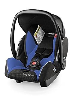 Recaro 55142121266 - Silla de coche Microfibra Saphir, Grupo ECE 0/0+ (color negro/azul) (B009SS5R12) | Amazon Products