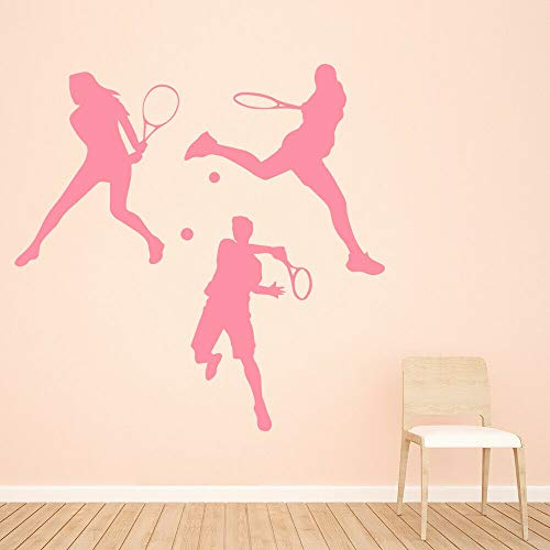 BFMBCH Jugador de tenis deportes pegatinas de pared vinilo pegatinas de pared...