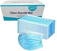 MaNMaNing Mascarillas Niños Infantil 100 Unidades con Elástico para Los Oídos 20200704-MANING-A100