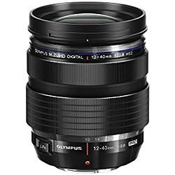 Olympus Objectif M.Zuiko Digital ED 12-40 mm f/2.8 Pro Noir, pour Appareil Hybride Micro 4/3