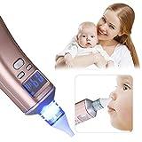 Nasensauger Baby Nasal Aspirator Nasensauger Baby Nasenreiniger Nasenputzer USB Aufladen Elektrischer Tragbarer Nasenschleimentferner Sicherer Und Schneller Sowie Hygienischer, LCD Bildschirm Tragb