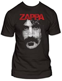 Frank Zappa - Zappa Mens T-Shirt In Coal, Size: XX-Large, Color: Coal