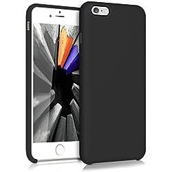 kwmobile Coque Apple iPhone 6 Plus / 6S Plus - Coque pour Apple iPhone 6 Plus / 6S Plus - Housse de téléphone en Silicone Bleu Azur
