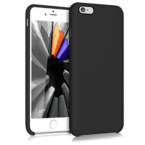 kwmobile Apple iPhone 6 Plus / 6S Plus Hülle - Handyhülle für Apple iPhone 6 Plus / 6S Plus - Handy Case in Schwarz matt