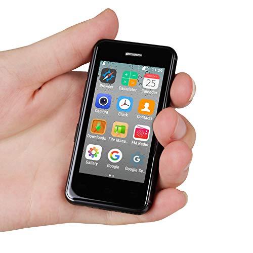 Mini teléfono Android con teléfono Inteligente 2.5'MTK6580A Quad Core 1GB 8GB...
