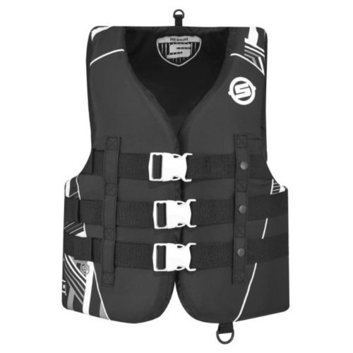 brp-sea-doo-ladies-vibe-nylon-life-jacket-vest-pfd-sea-doo-large-grey-by-bombardier