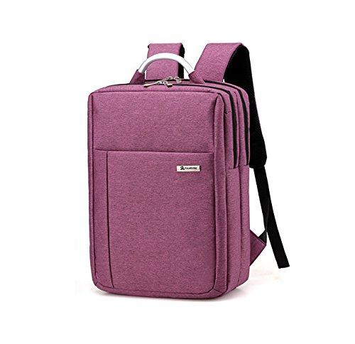DSJJ Zaino per Computer Portatile Casual Backpack Laptop impermeabile Zainetto uomo per ufficio e scuola