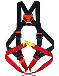 mhgao escalada arnés, seguro cinturones para montañismo exterior banda fuego rescate de los niños de trabajo cuerpo cinturón