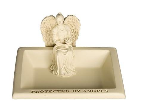 Angelstar Protected by Angels Engel Schmuckkästchen, 4–1/2Zoll breit