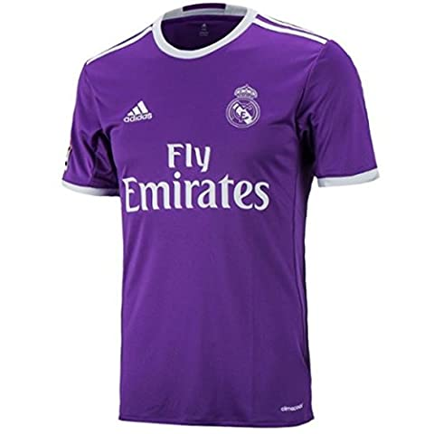ADIDAS T shirt Maillot de football Du REAL MADRID Tshirt Officiel Exterieur de l'Equipe pour HOMME (M)