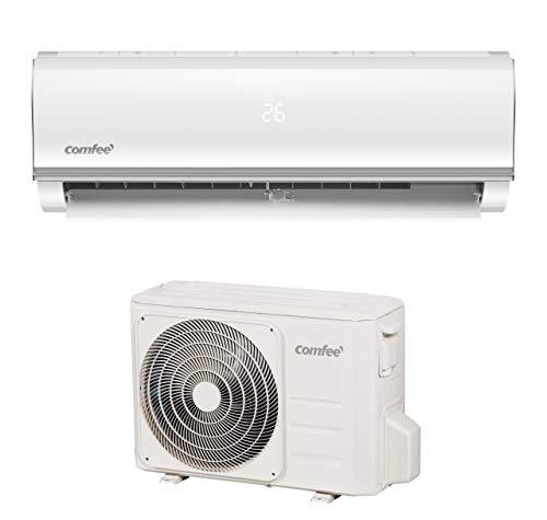 Comfee MSAF5-12HRDN8-QE R32 SET Split Klimagerät, 1580 W, 230 V, weiss, 28,5 x 80,5 x 190,4cm innen, 55 x 70 x 27,5cm aussen