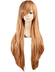 COSPLAZA Cosplay Wigs Perruque Sword Art Online YuuKi Asuna longue brune Blonde Carnaval Party Anime Cheveux