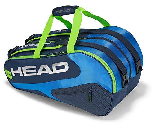 HEAD Schlägertasche Elite Padel Tennis-Marine/royal/grün, weiß, S