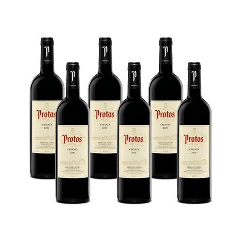 Protos Crianza 2014-Vino Tinto Ribera Del Duero-6 Botellas-0,75l