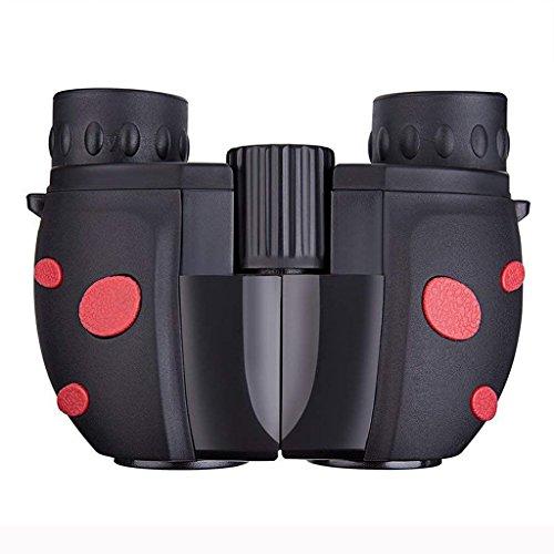 C-Xka Binoculares para Niños, Mini Prismáticos Ligeros para Portátiles Binoculares Ligeros telescopio para Observación de Aves, Viajes (Color : Red)