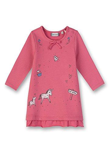 Sanetta Baby-Mädchen Kleid Dress, Rosa (Lotus Rose 3224.0), 68