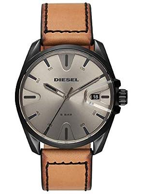 Diesel Reloj Analógico para Hombre de Cuarzo con Correa en Cuero DZ1863