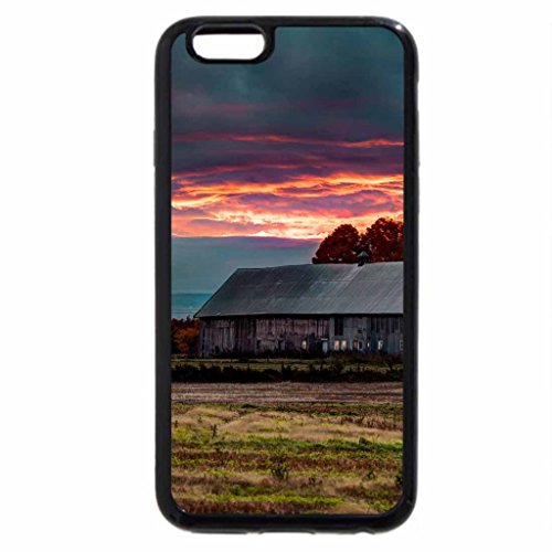 iPhone 6S / iPhone 6 Case (Black) Village Life