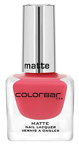 Colorbar Matte Nail Lacquer, Pinked 002, 12ml