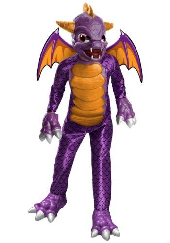 (Cooles Spyro Skylanders™-Kostüm für Kinder - 3-4 Jahre)