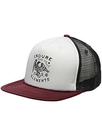 Emblem Trucker Cap Größe: One_Size Farbe: Rot (Baseball Screen Print Cap)