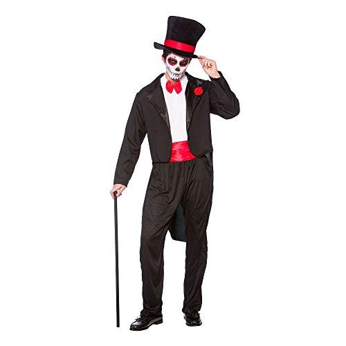 Tag der Toten Senor - Mens Halloween Kostüm Größe (Toten Tag Men's Kostüm Ideen Der)