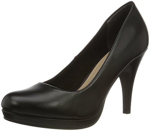 Tamaris Damen 22417 Pumps Schwarz (BLACK MATT 015)