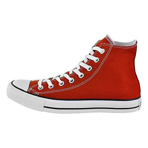 ConverseChuck Taylor All Star Adulte Seasonal Leather Hi - Scarpe da Ginnastica Basse Uomo Rosso
