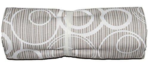 Ba grandfoulard-telo copritutto-copridivano- copriletto-tendaggio mod. cerchio 240x260 cm colore beige