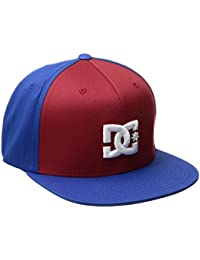 DC Shoes Men's Snappy Snapback Hat Chili Pepper Red Blue (rrd0)
