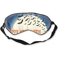 Fashion Halloween Schlafmaske Fledermaus-Druck super glatt Seide Lidschatten preisvergleich bei billige-tabletten.eu